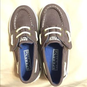 Toddler boys Sperry Top Sider shoes size 9.5
